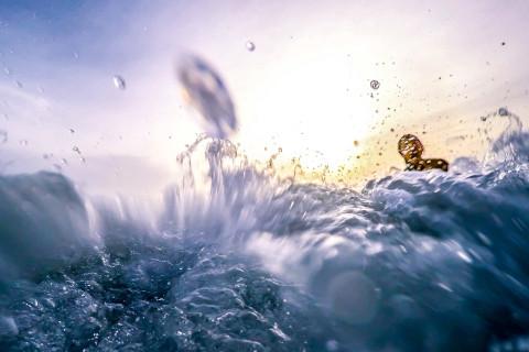 Petrus auf dem Wasser