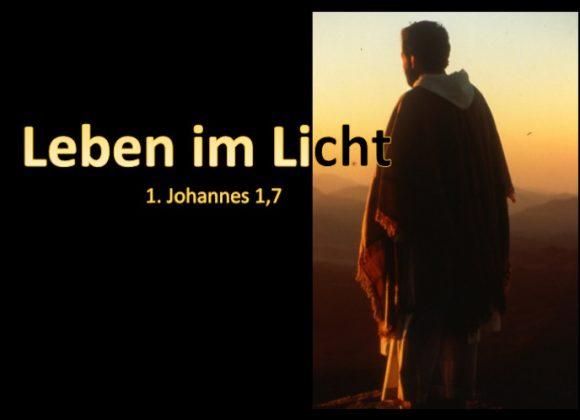 Leben im Licht